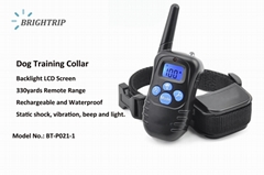 Amazon Best Seller Dog Training Collar  BT-P021-1