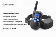 Dog Training Collar  Pet Shock Collar