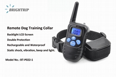 Amazon Best Seller Dog Shock Collar  Dog Training Collar Shock Electric E-Collar