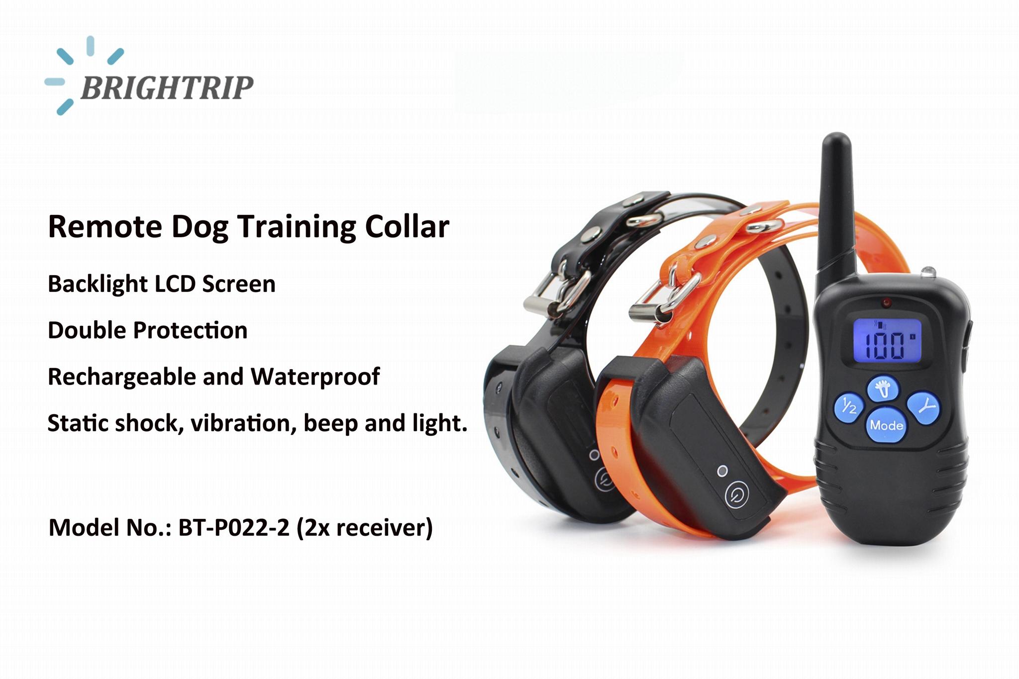 Dog Shock Collar Dog Training Collar waterproof 1
