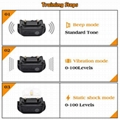 Amazon Best Selling Waterproof Electric Dog Shock Collar with Remote  4