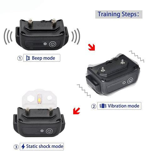 Amazon Best Seller Remote Dog Shock Collar with 2 Collars BT-P021-2 4