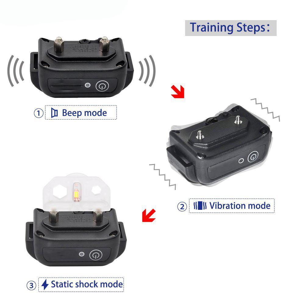 Dog Shock Collar Dog Training Collar waterproof 6