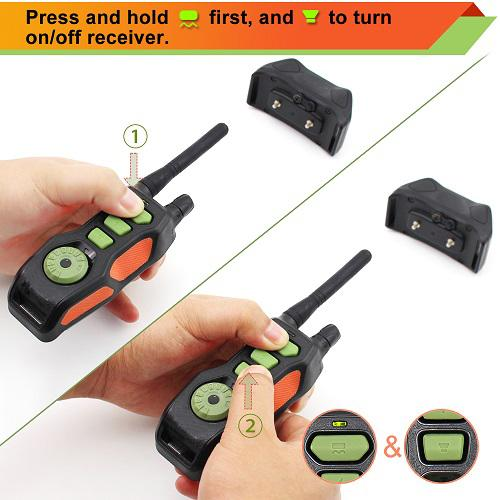 New Remote Dog Training Collar  Waterproof and Rechargeable 2