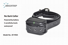 Battery Operated Waterproof Dog Anti Bark Shock Collar BT-P025