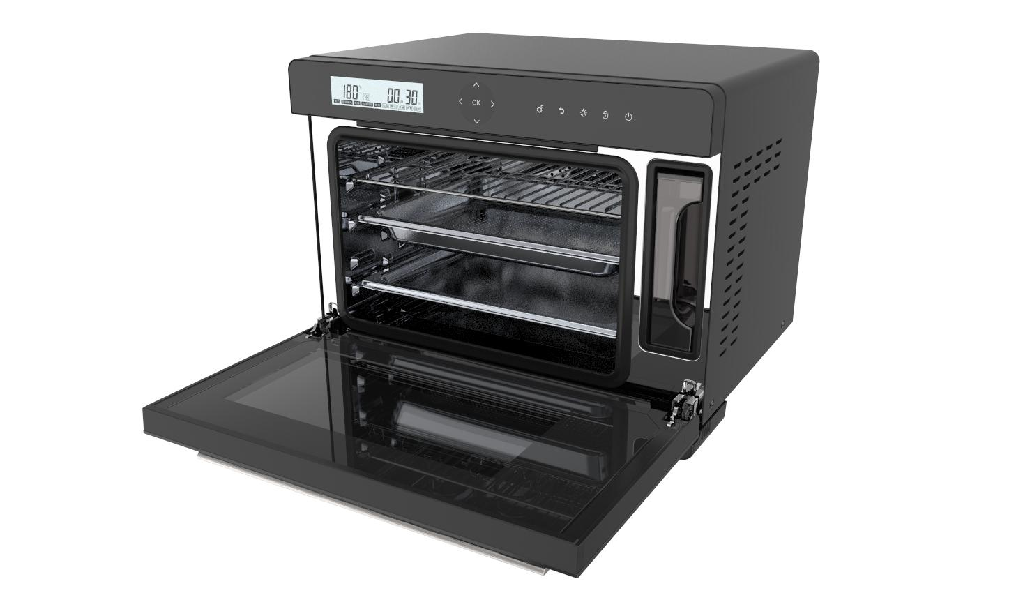 32L touch screen desktop electric steam oven 4