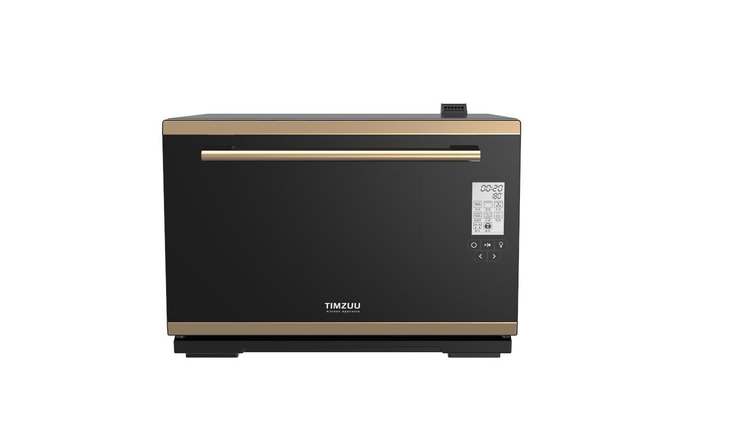 28L knob touch screen desktop  electric steam  oven 2