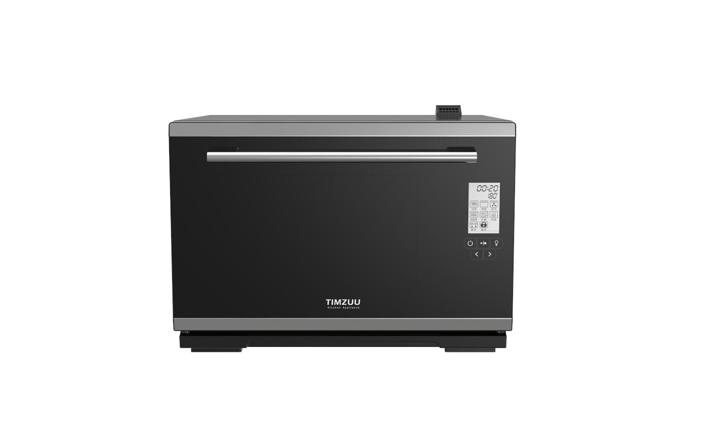 28L knob touch screen desktop  electric steam  oven 5