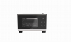 25L knob/ touch screen desktop steam oven