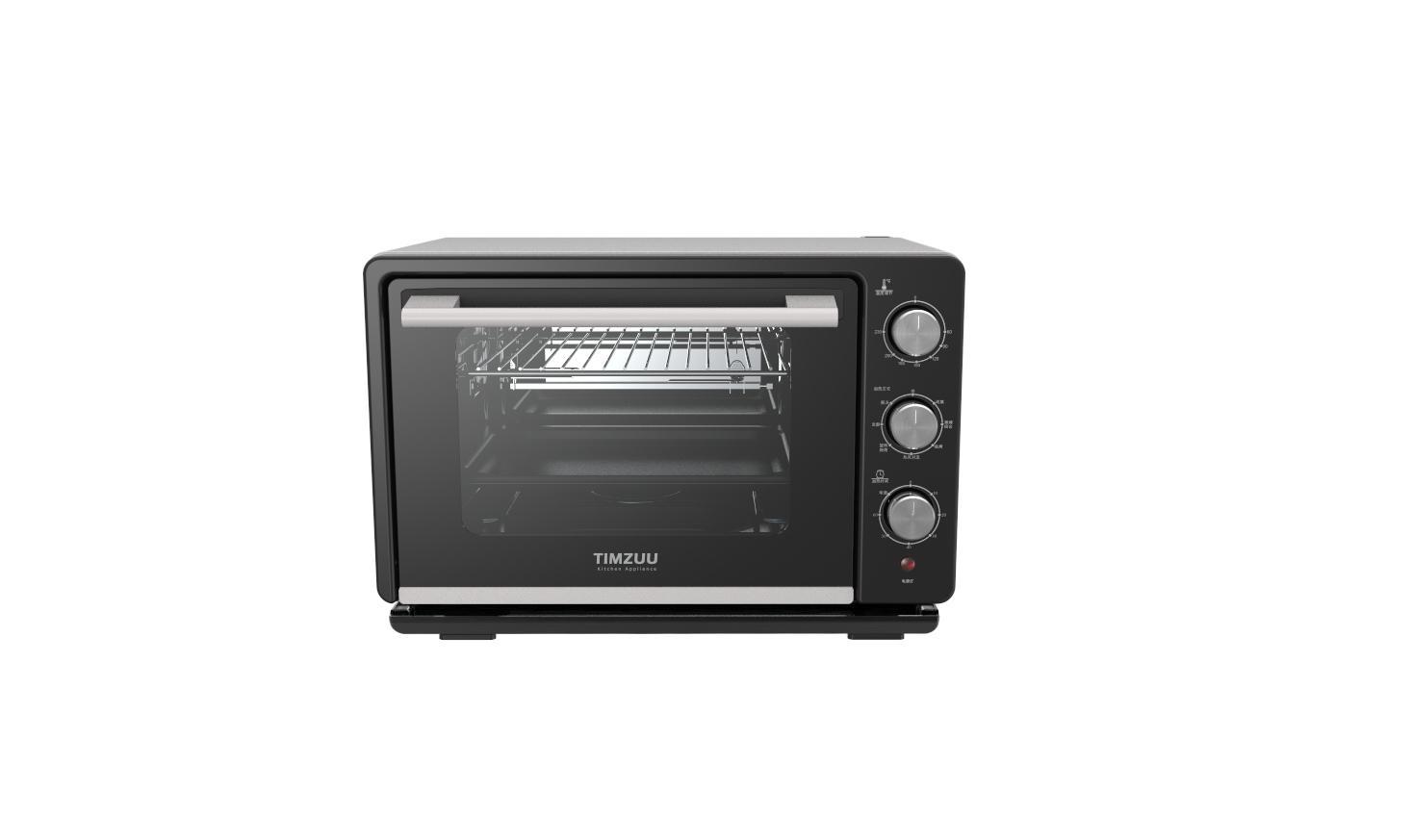 23L knob Touch  screen desktop  steam  oven 1