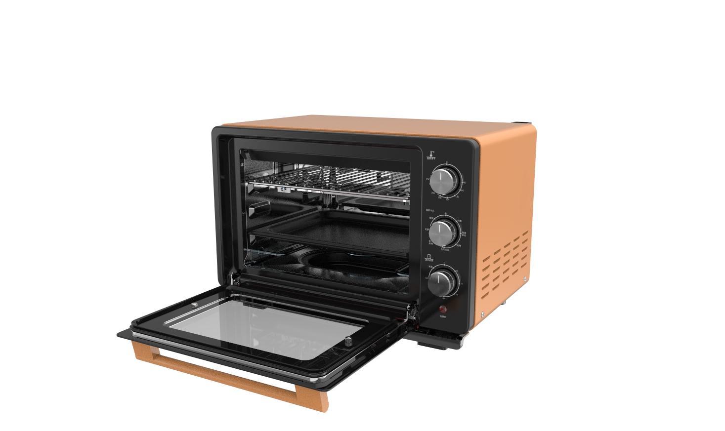 23L knob Touch  screen desktop  steam  oven 2