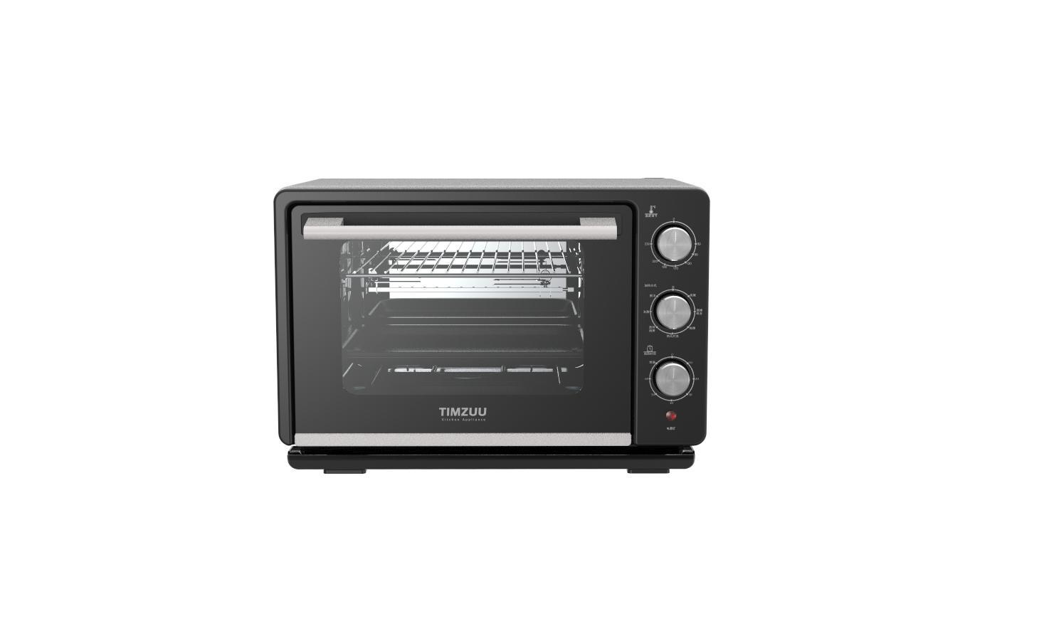 23L knob Touch  screen desktop  steam  oven 4