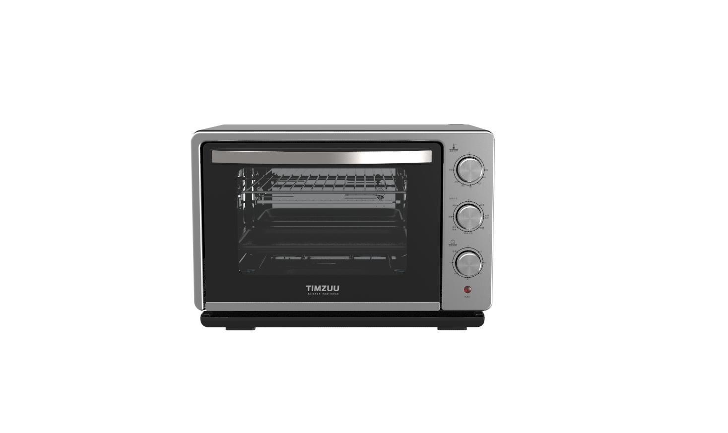 23L knob Touch  screen desktop  steam  oven 5