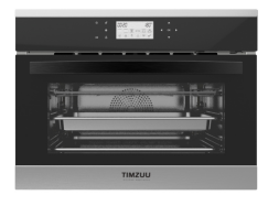 58L double water tanks built-in electric steam  oven 1
