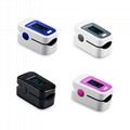 Four Colors Heart Rate Finger Pulse Oximeter SpO2 Ce Blood Oxygen