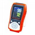 Adult Handheld Pulse Oximiter Easeai Heart Rate SpO2 Compatible Nellcor Sensor S