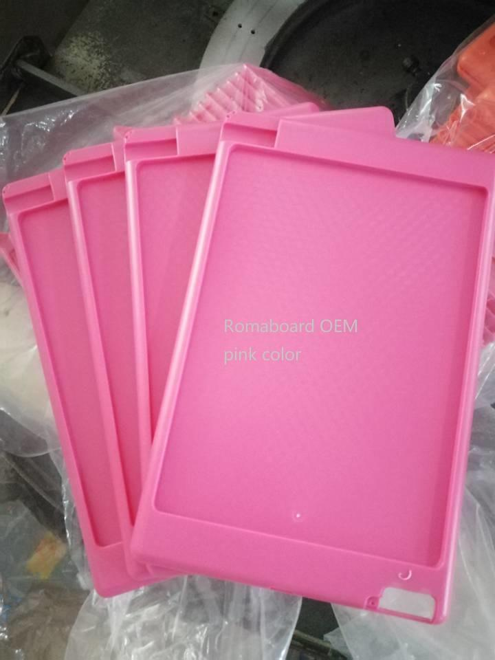 oem pink color girls 8.5 inch lcd writing tablet smart sketch board for kids 2