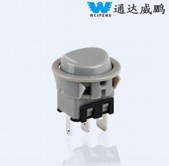Rocker Switch with UL Suitable for Electric Appliance 250 VAC
