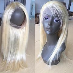 18'' Amaishair 613 Blonde 100% Human Hair Lace Front Wig