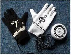 电子钢琴手套乐器