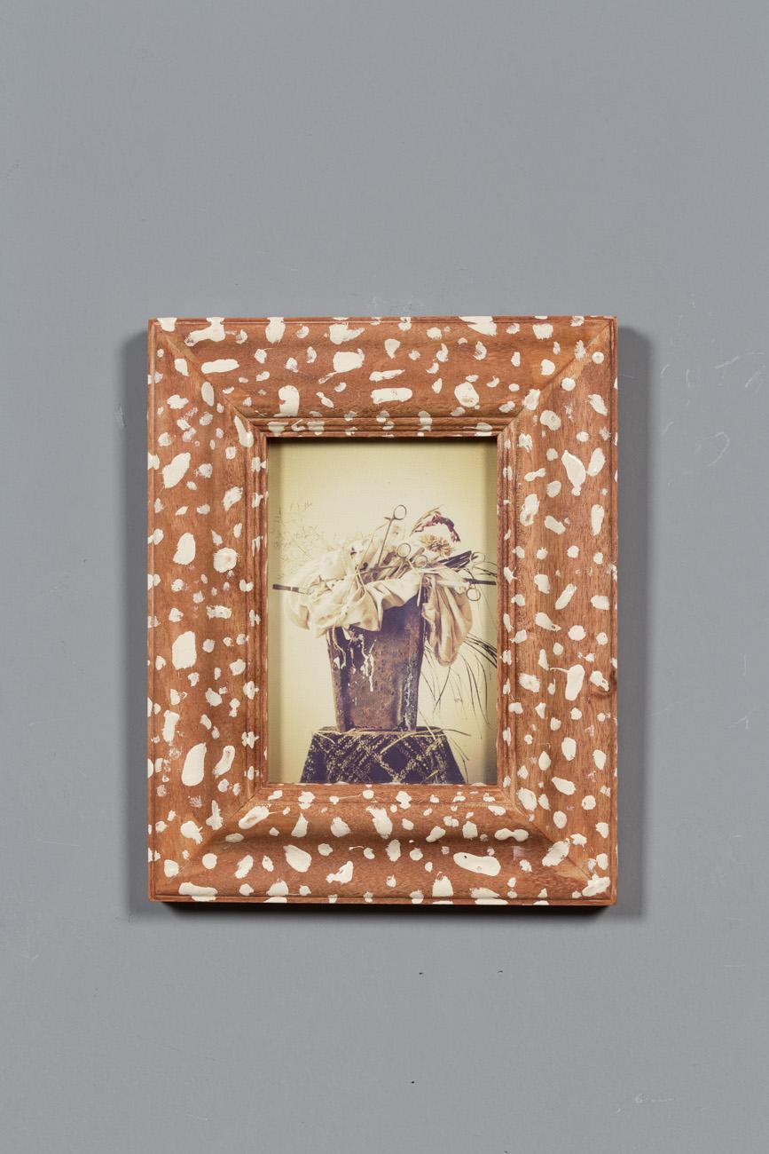 藝朮類實木相框田園風格