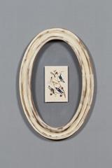 圓形相框實木相框復古工藝