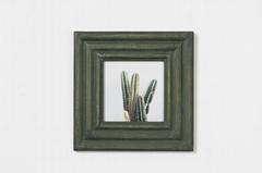 绿色相框实木相框北欧风格