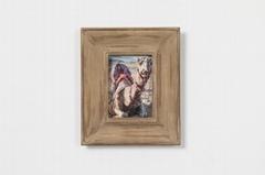 北欧风格实木相框骆驼相框