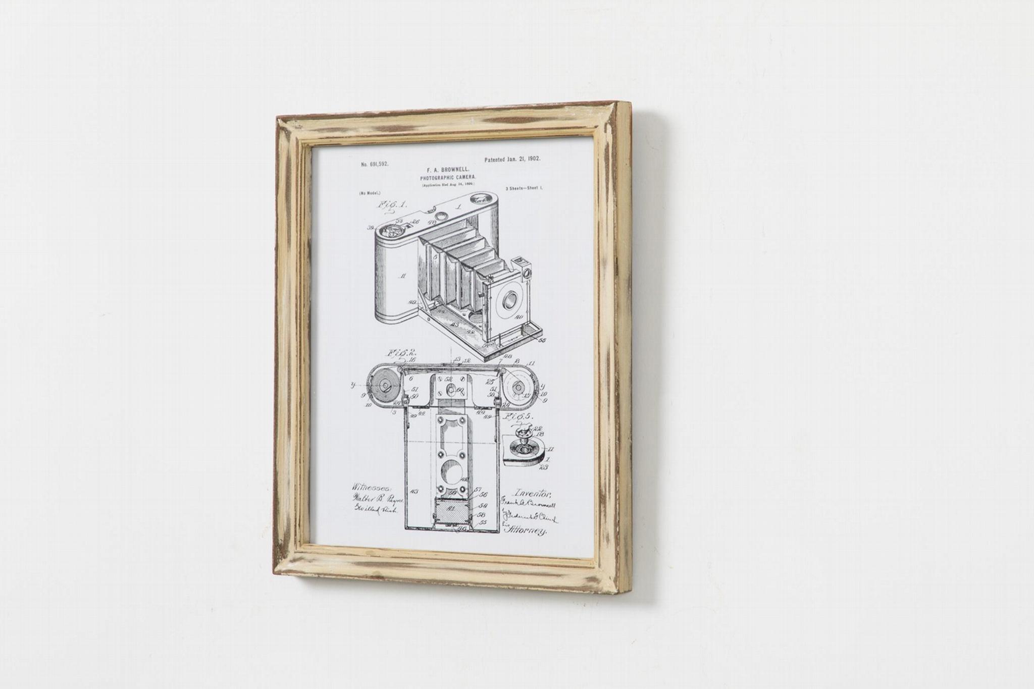Solid wood frame 6