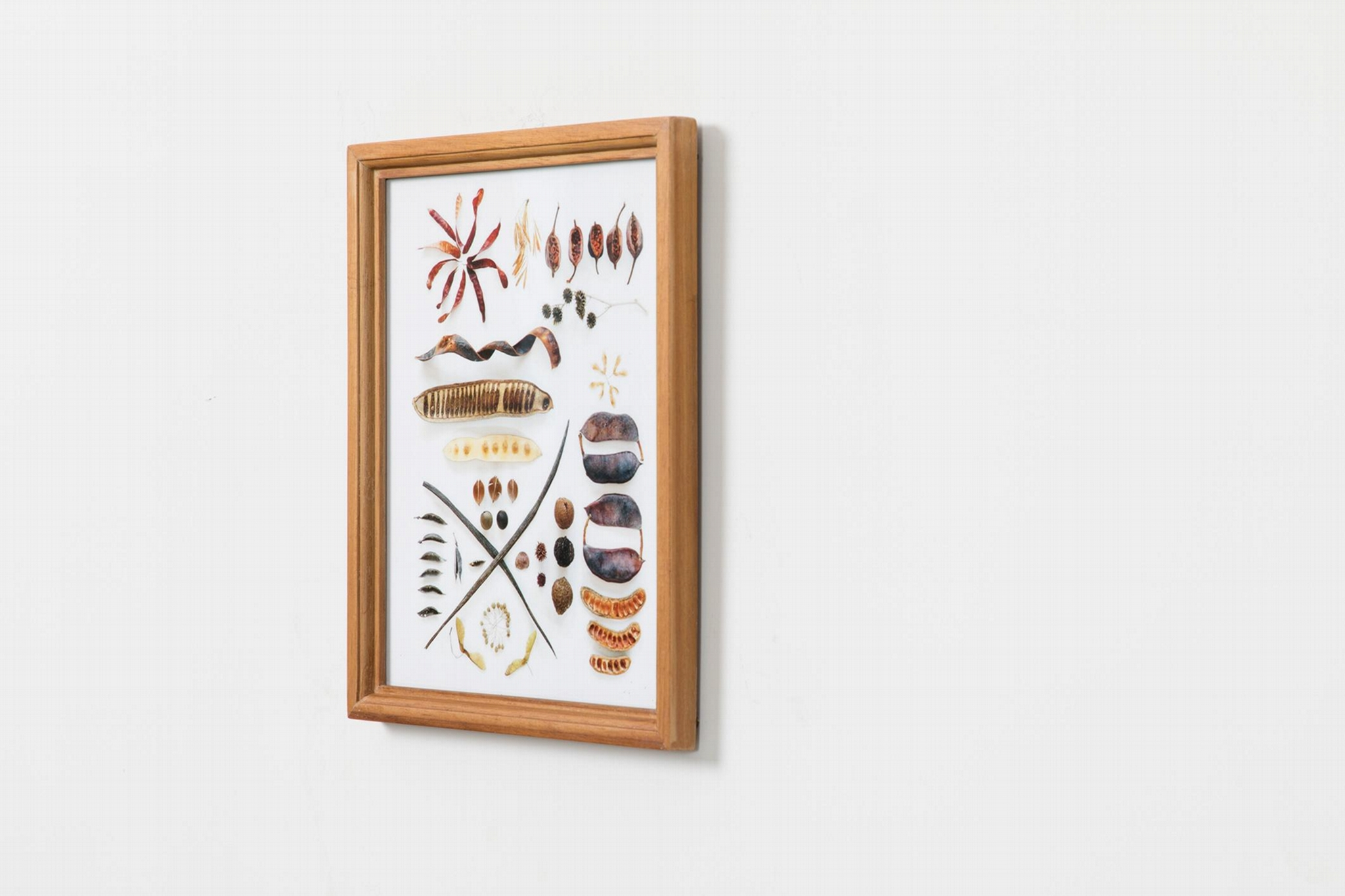 Solid wood frame 12