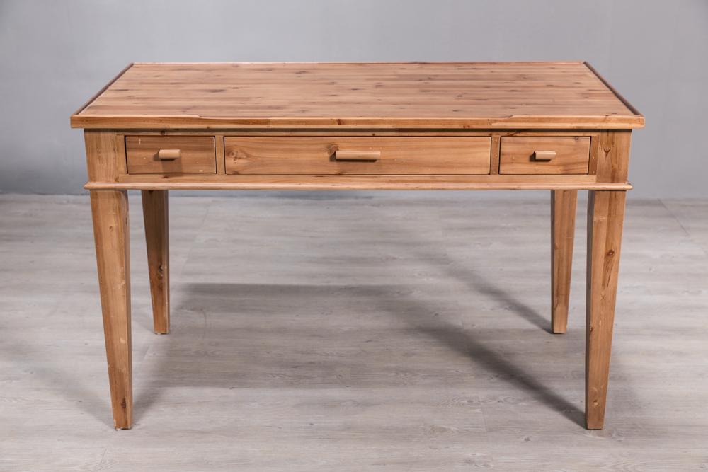 North European solid wood desk 1