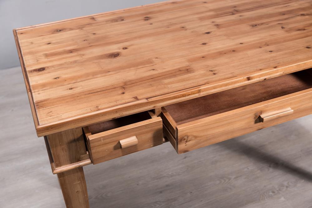 North European solid wood desk 6