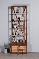 Industrial retro solid wood stacks