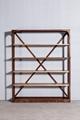 Industrial retro solid wood stacks 2 3