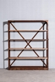 Industrial retro solid wood stacks 2