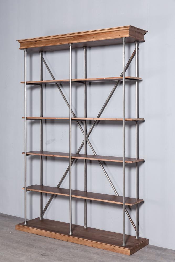 Industrial retro bookshelf 5