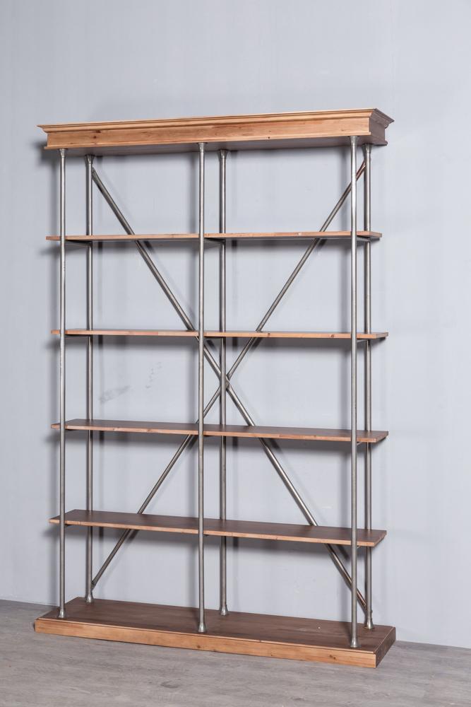 Industrial retro bookshelf 6