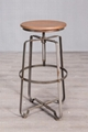 Flat iron bar chair 1
