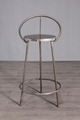 Industrial iron bar chair