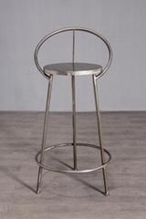Industrial iron bar chair