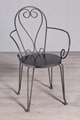 Iron yard chair