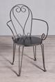 Iron yard chair