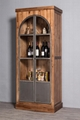 Nordic real wood display cabinet