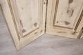 四折實木復古屏風