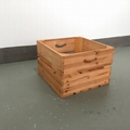 Solid wood box