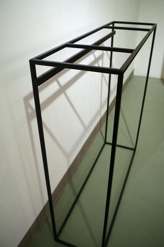 服裝展示架高架牆上展示架黑色 2