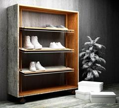 鞋架皮鞋展示架运动鞋架