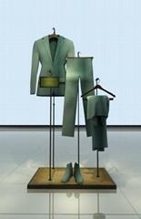 服裝展示架中島架鐵架