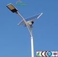 30W-120W Split solar LED street light