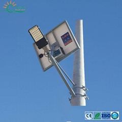 20-120W  customized solar street light for telegraph pole or wall